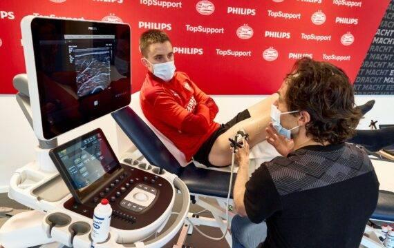 3D spierechografie onderzoek door St. Anna, PSV en Philips