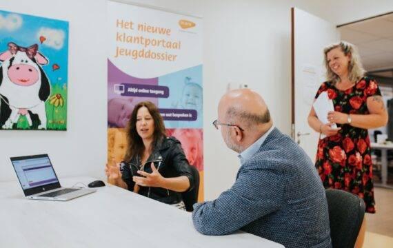 Klantportaal Jeugdgezondheidszorg in Drenthe en Flevoland