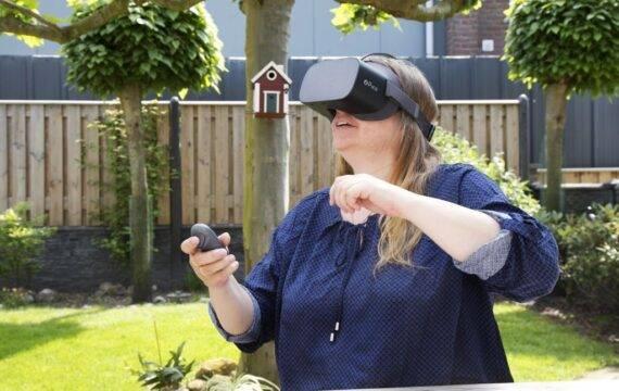 Pijnbestrijding met behulp van virtual reality