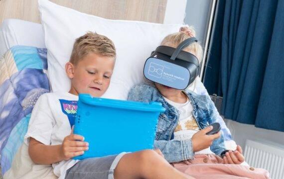 VR-bril laat kinderen ontspannen op de SEH