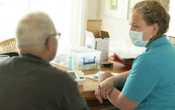 Thuisbehandeling voor patiënten met hartfalen in Gelre