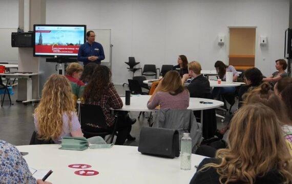 Studenten aan de slag met Lifelines gezondheidsdata