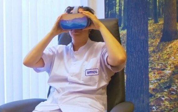 Virtuele stressverlichting voor IC-verpleegkundigen